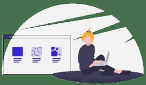 Web design illustrations