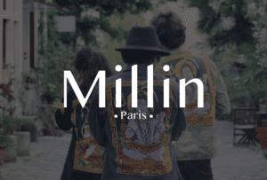 Identité visuelle Millin Paris