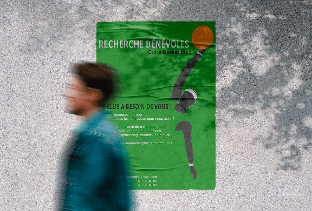 Affiche Erdre Basket Club