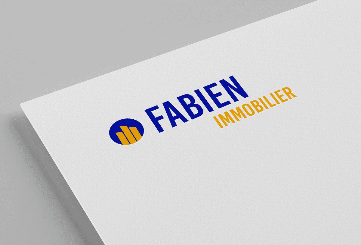 Studio bleu -Logo Fabien