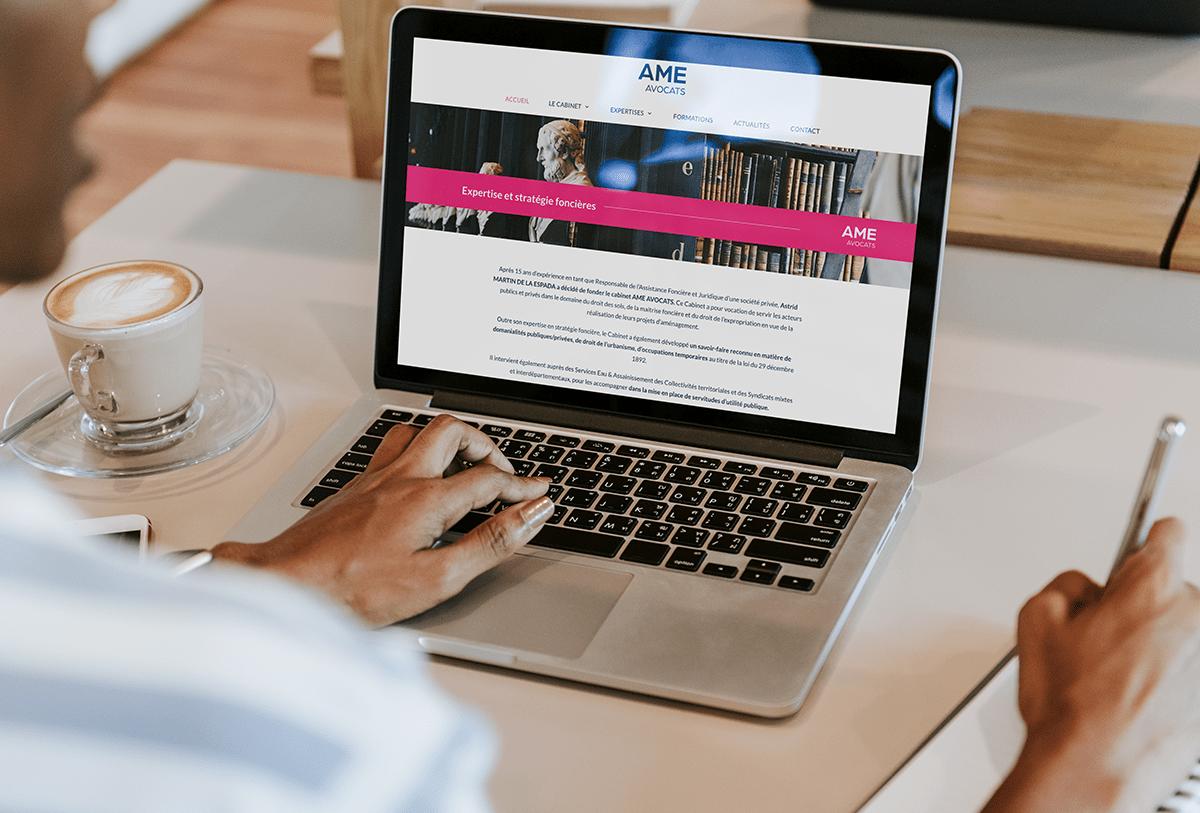 AME-AVOCAT site web